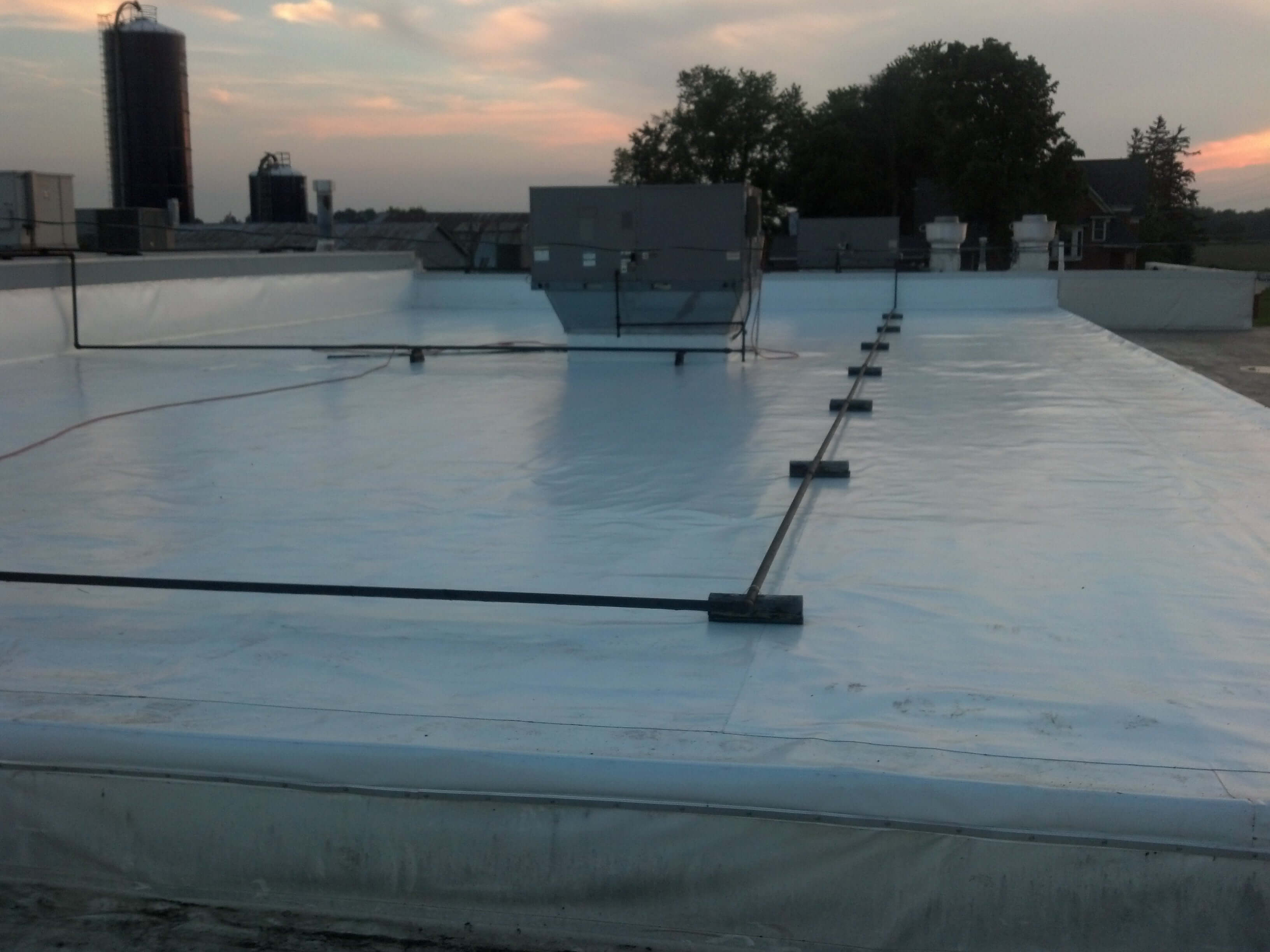 single ply commercial roofing systems kansas city