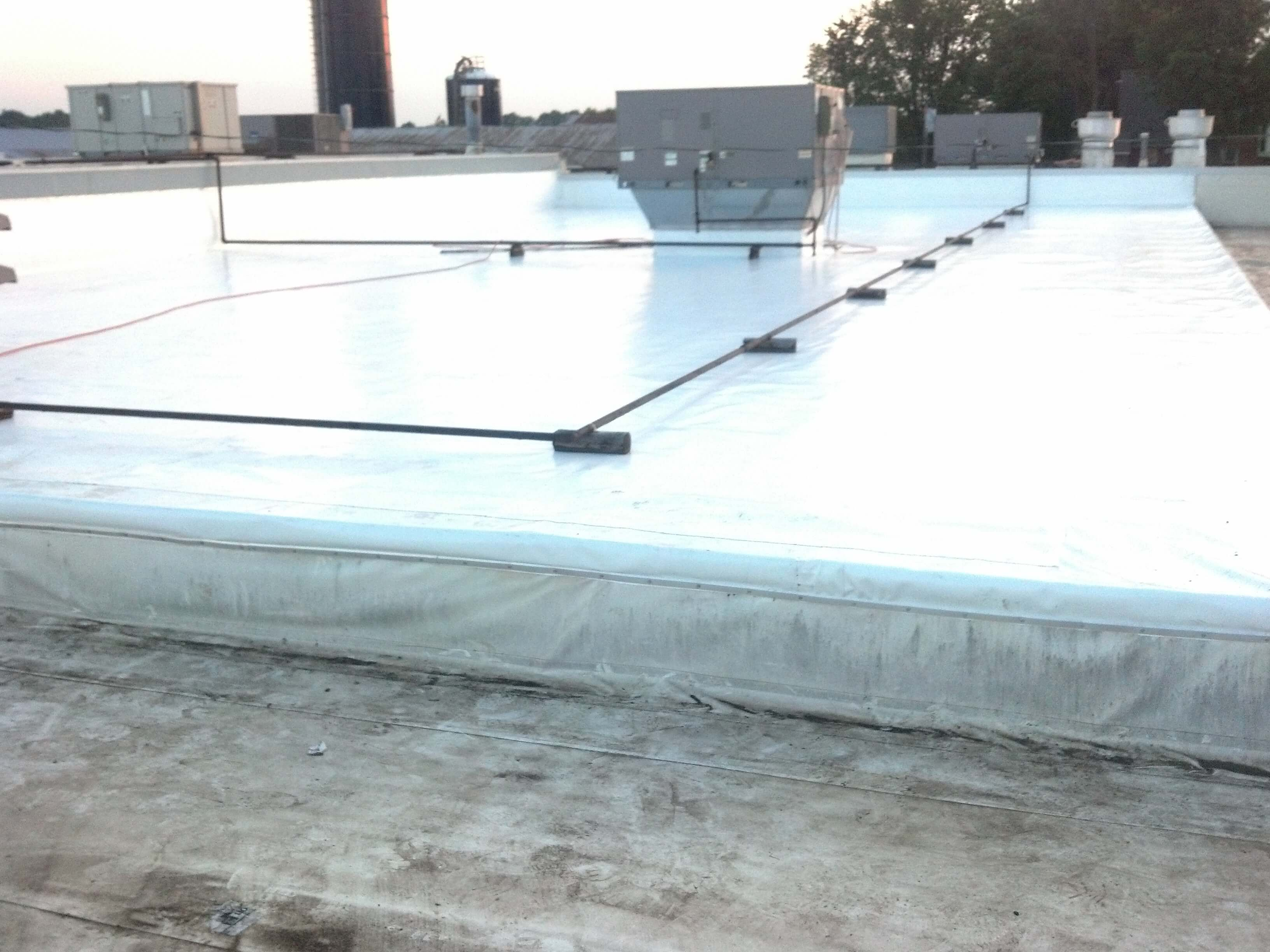 Single Ply Commercial Roof Restoration Mdm Roofing