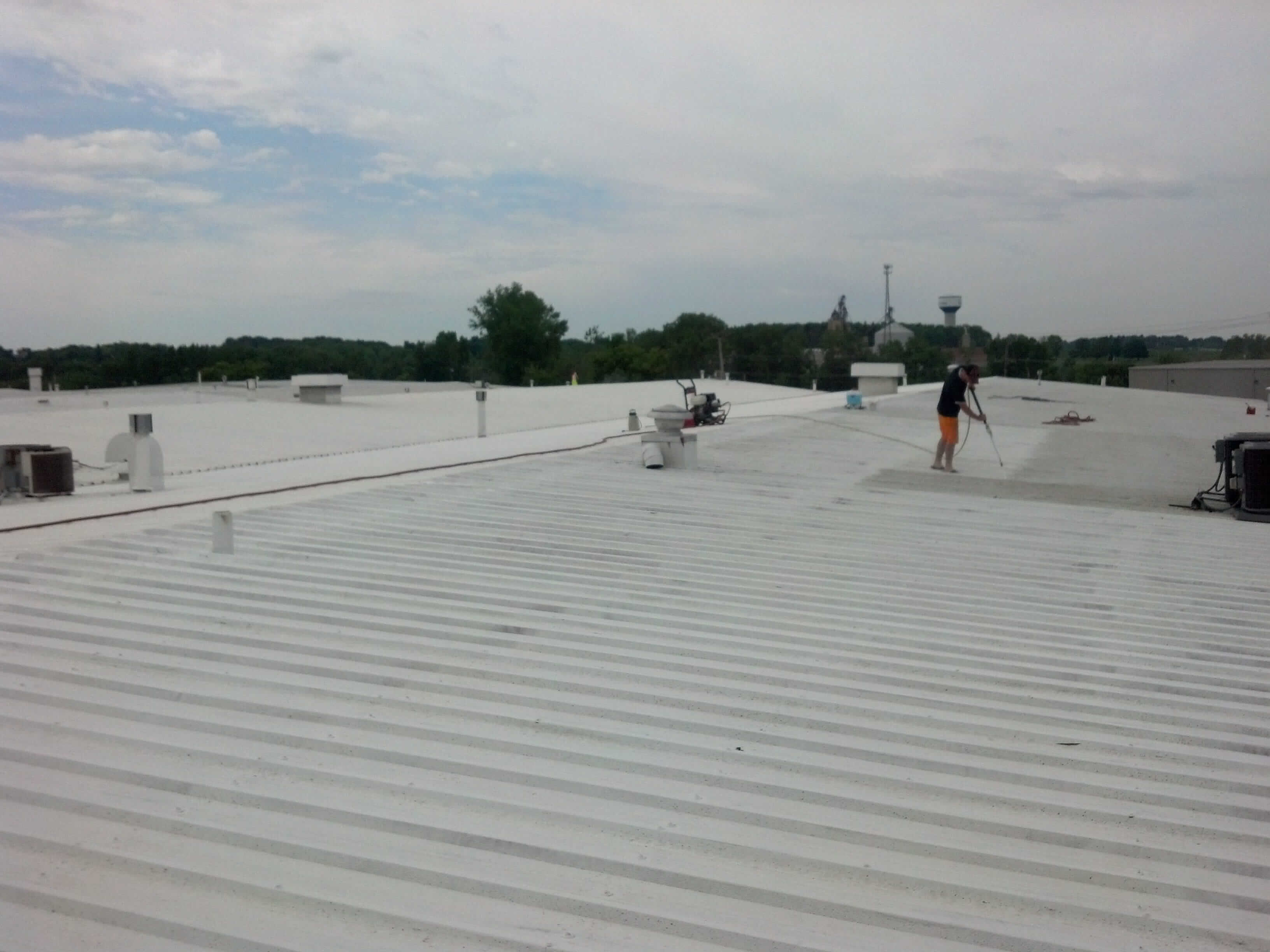 single ply roofing system lee's summit