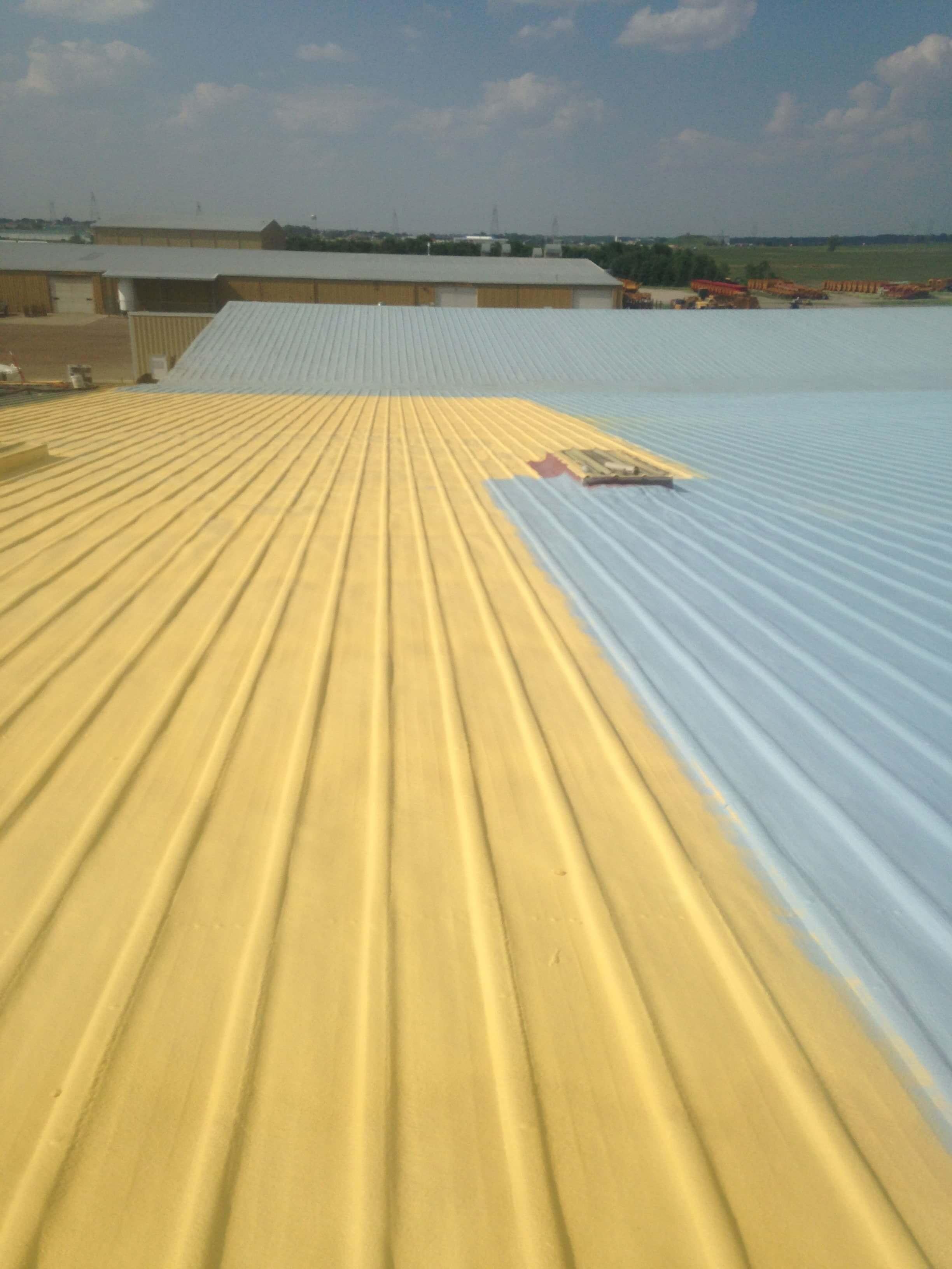 Spray Polyurethane Foam Roofing System Spray Foam Roofing