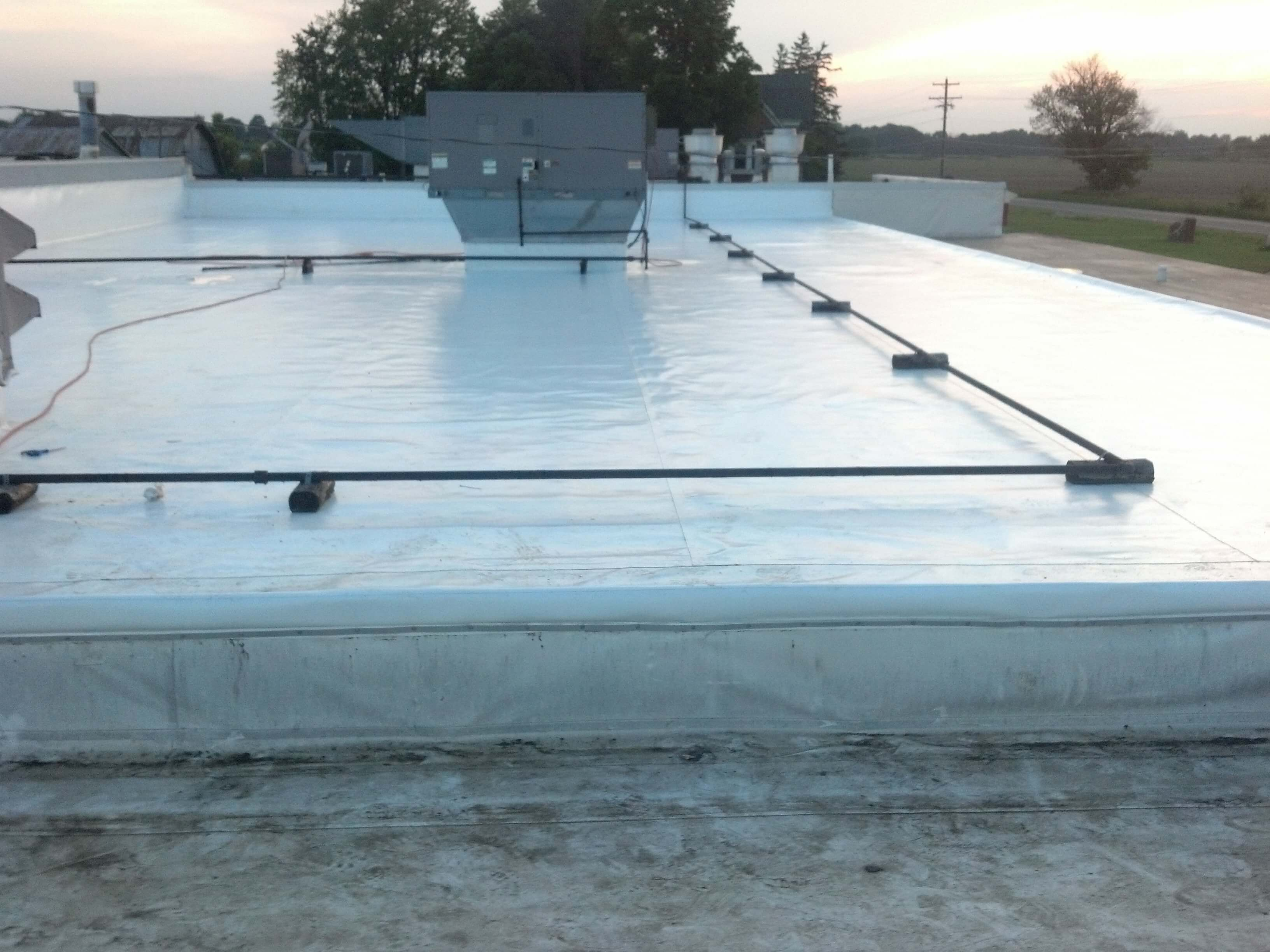 Single Ply Roof Membrane Installation Repair Replacement