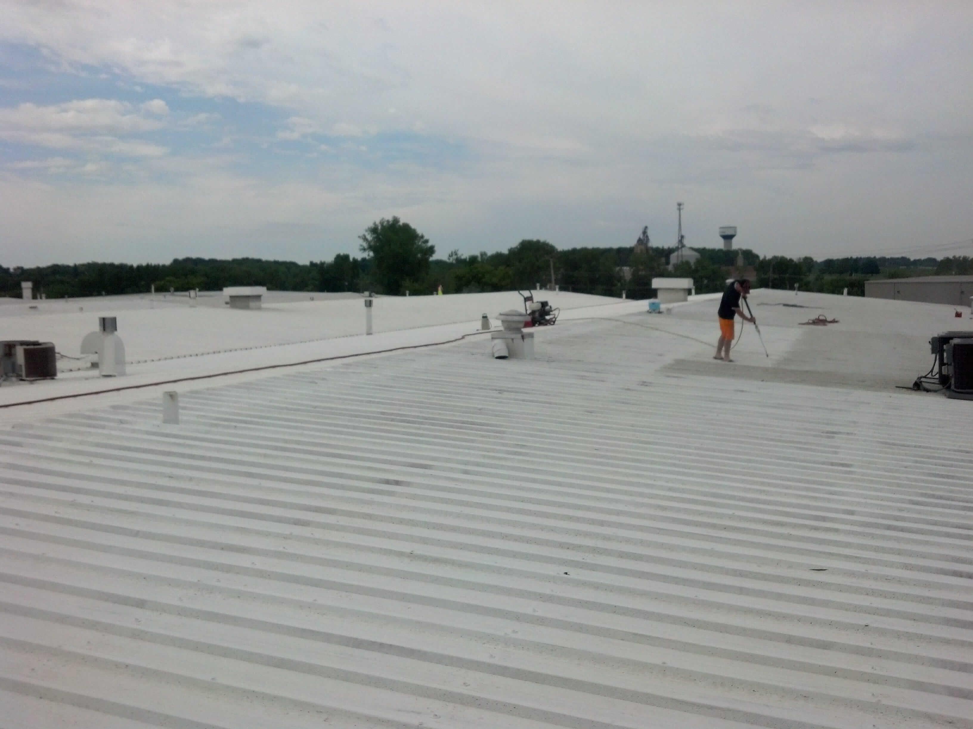 Tpo Flat Roof Flat Roofing Flat Roof Repair Kansas