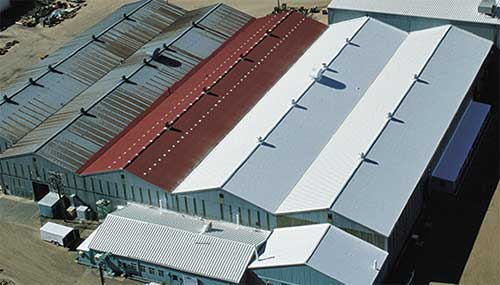 Metal Roof Restoration 1 Commercial Roofing Kansas City