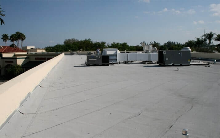 Commercial Roof Replacement In Clinton